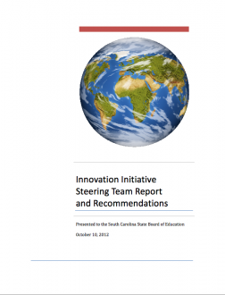 Innovation Initiative Steering Committee Report and Recommendations