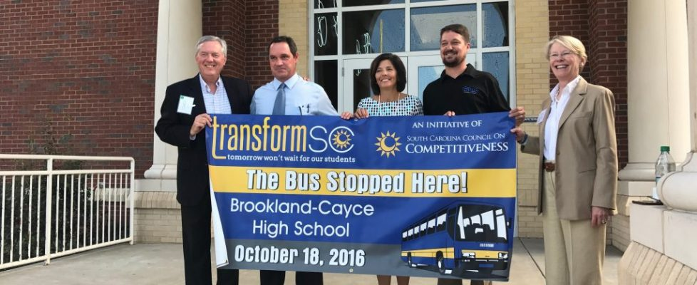 TransformSC hosts first annual Bus Tour