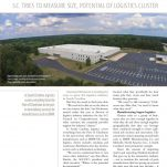 Council's logistics industry initiative featured in Columbia Business Monthly