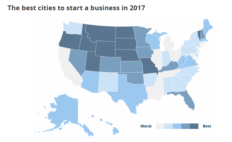 South Carolina cities have room to improve in national entrepreneurial survey