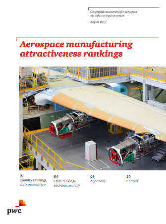 South Carolina Ranked 17th In U.S. In Aerospace Attractiveness
