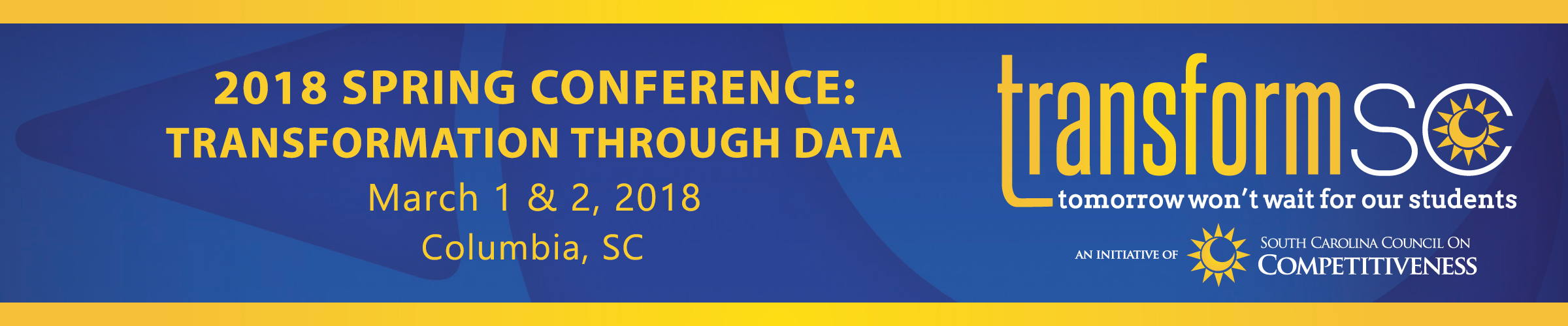 2018 TransformSC Spring Conference
