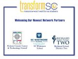TransformSC Announces Three New Network Partners