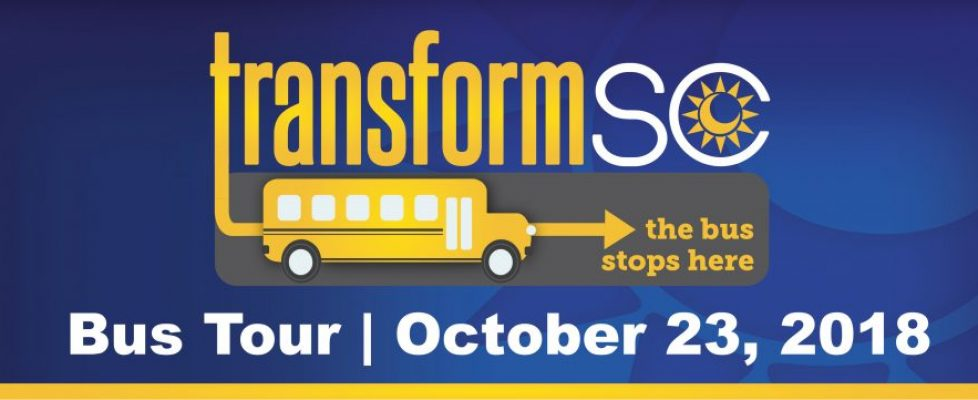 TransformSC 2018 Bus Tour to Visit Florence and Sumter Schools